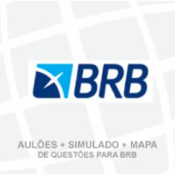 BRB - BANCO DE BRASÍLIA - (TEORIA + EXERCÍCIOS) – AULÕES + SIMULADO + MAPA DE QUESTÕES - ESCRITURÁRIO (02/2019)