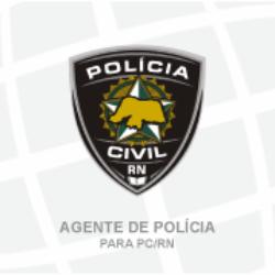 PC/RN - POLÍCIA CIVIL DO RIO GRANDE DO NORTE - AGENTE DE POLÍCIA (01/2019)