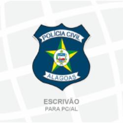 PC/AL - POLÍCIA CIVIL DO ESTADO DE ALAGOAS- ESCRIVÃO (01/2020)