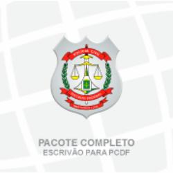 PCDF POLÍCIA CIVIL DO DISTRITO FEDERAL - CARGO: ESCRIVÃO DE POLÍCIA - PACOTE COMPLETO (PÓS EDITAL) - 2020