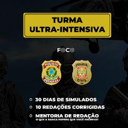 TURMA ULTRA-INTENSIVA PF/PCDF